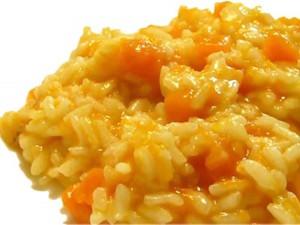 Il risotto di zucca, un classico delle ricette stagionali