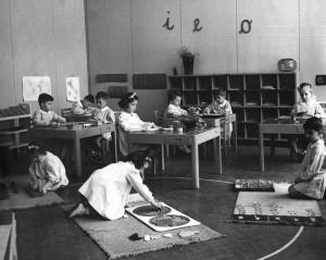 Una scuola montessoriana fiorentina nel 1951
