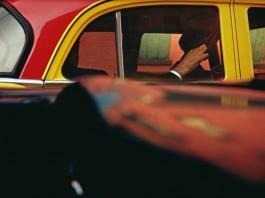 """""""Taxi"""" di Saul Leiter"""