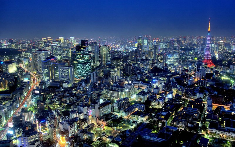 Tokyo è la città più grande del mondo, almeno a giudicare dall'area metropolitana