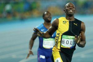 Usain Bolt alle Olimpiadi di Rio (foto di Fernando Frazão/Agência Brasil)