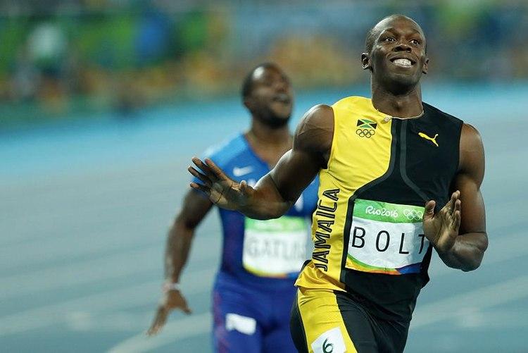 Usain Bolt, il più rappresentativo tra gli uomini più veloci del mondo (foto di Fernando Frazão/Agência Brasil)