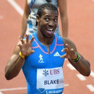 Yohan Blake, il terzo uomo più veloce di tutti i tempi (foto di Ludovic Péron via Wikimedia Commons)