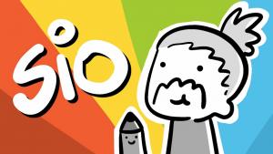 L'autoritratto di Sio, il più famoso youtuber/disegnatore italiano