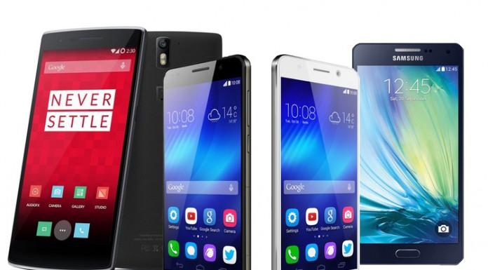 Guida ai migliori smartphone in vendita nel 2015 a 300 euro circa
