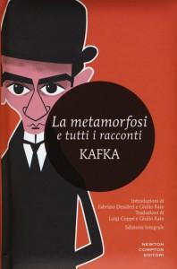 """Una raccolta dei racconti di Franz Kafka in cui viene ovviamente messo in risalto """"La metamorfosi"""""""