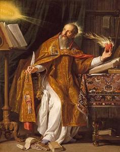 Sant'Agostino in un dipinto di Philippe de Champaigne conservato al Los Angeles County Museum of Art