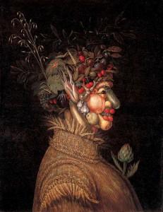 """Estate"" di Giuseppe Arcimboldo, celebre dipinto cinquecentesco"