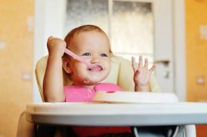 La banana è sempre amata dai bambini piccoli
