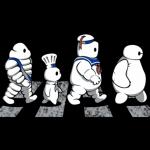 Dall'omino Michelin a Baymax