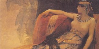 Cleopatra in un dipinto di Alexandre Cabanel