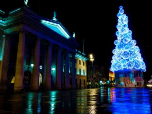 Dublino nel periodo natalizio (foto di Sebastian Dooris via Flickr)