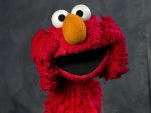Il rosso Elmo, diventato negli ultimi anni il più popolare tra i Muppet di Sesame Street