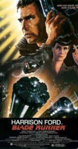 La locandina di Blade Runner, uno dei film di fantascienza più belli e famosi di sempre
