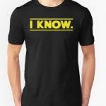 «Lo so», la frase cardine di Han Solo nella trilogia originale