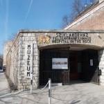 L'ingresso dell'Hospital in the Rock, una delle attrazioni meno note ma più interessanti della capitale ungherese