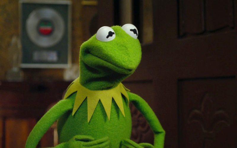 Kermit la rana, il Muppet più celebre nel mondo