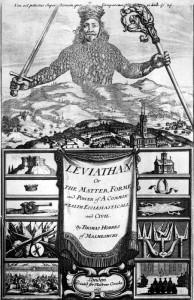 L'apertura de Il leviatano, celebre trattato filosofico di Thomas Hobbes
