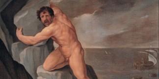 Polifemo in un quadro seicentesco del bolognese Guido Reni