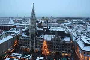Quello di Monaco di Baviera è uno dei mercatini di Natale più famosi d'Europa