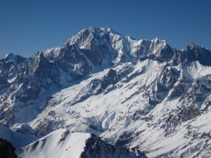 Il Monte Bianco in una foto di Paolo Recalcati
