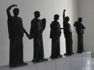 Una delle sale del Museo archeologico nazionale di Napoli in una foto di Lalupa da Wikimedia Commons