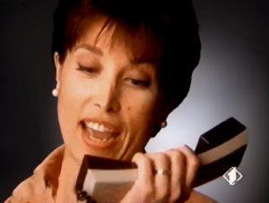 La signora che rispondeva al citofono nella pubblicità della Cremeria Motta