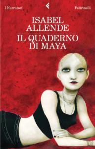 """La copertina de """"Il quaderno di Maya"""" di Isabel Allende"""