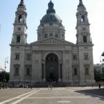 La facciata della Basilica di Santo Stefano, una delle cose assolutamente da vedere a Budapest