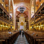 L'interno della Sinagoga Grande di Budapest