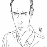 Autoritratto di Angelo Stano
