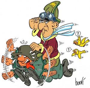 Le Sturmtruppen, con la loro satira pacifista, sono la creazione più celebre di Bonvi