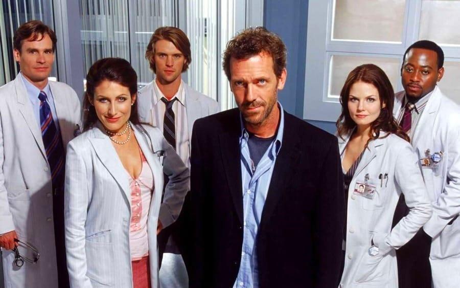 Il Dr. House coi suoi collaboratori