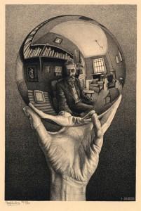 Hand with a Reflecting Sphere, il più famoso autoritratto di Escher