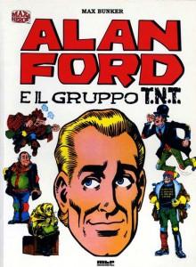 Alan Ford attorniato dagli altri protagonisti della serie