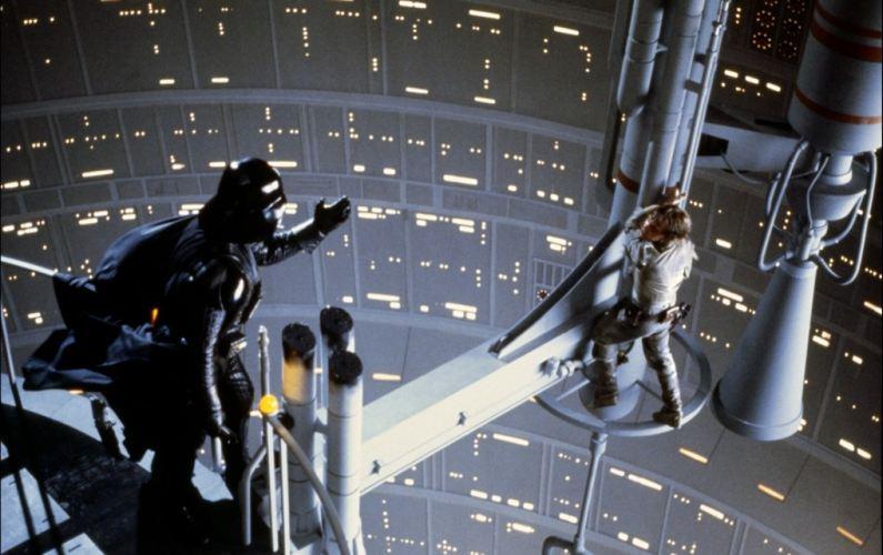 La celebre scena in cui Darth Vader rivela a Luke Skywalker di essere suo padre
