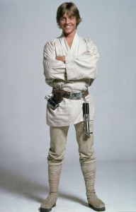 Luke Skywalker, interpretato da Mark Hamill