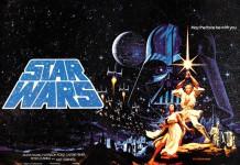 Il poster del 1977 di Star Wars