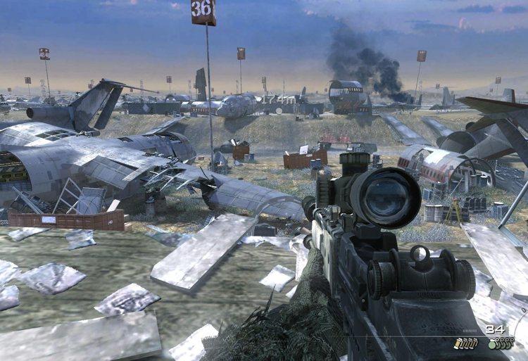 L'interfaccia di Call of Duty: Modern Warfare 2, uno dei migliori titoli della serie
