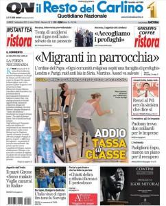 Il Resto del Carlino è il più venduto dei tre giornali che formano il Quotidiano Nazionale