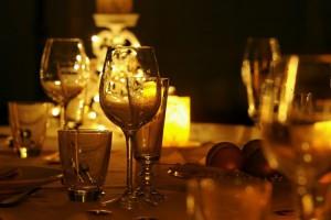 La cena a lume di candela: un classico che non delude mai