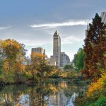 Central Park coi grattacieli di Manhattan sullo sfondo (foto di Ed Yourdon via Flickr)