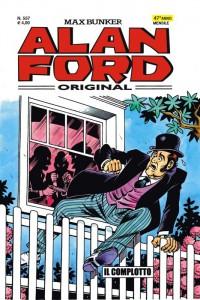 Il conte Oliver si dà alla fuga in una recente copertina del mensile di Alan Ford