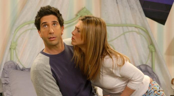 Ross e Rachel di Friends, forse la più famosa coppia della storia della TV