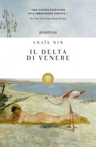 """Copertina dell'edizione Bompiani de """"Il delta di Venere"""", raccolta di racconti erotici di Anaïs Nin"""