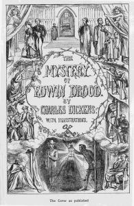 La copertina di una delle prime edizioni de Il mistero di Edwin Drood