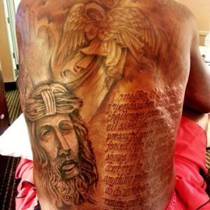 Il tatuaggio religioso di Kevin Durant