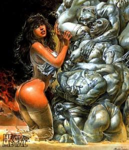 Druuna, la più famosa eroina dei fumetti erotici di Paolo Eleuteri Serpieri