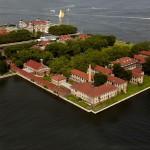 Ellis Island vista dall'alto