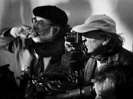 Vittorio Storaro, uno dei direttori della fotografia più famosi al mondo, con Francis Ford Coppola